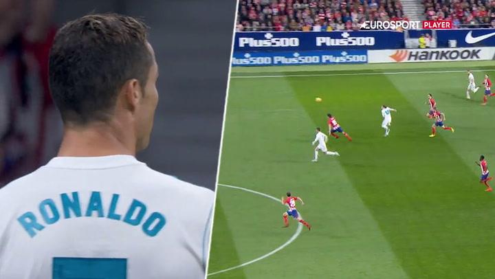 Så du det? Juanfran vinder løbeduel mod Ronaldo!