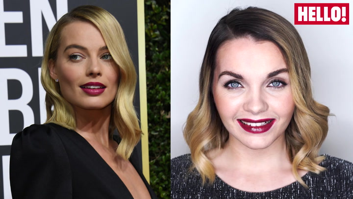 Margot Robbie\'s glamorous Golden Globes look - how to recreate it!