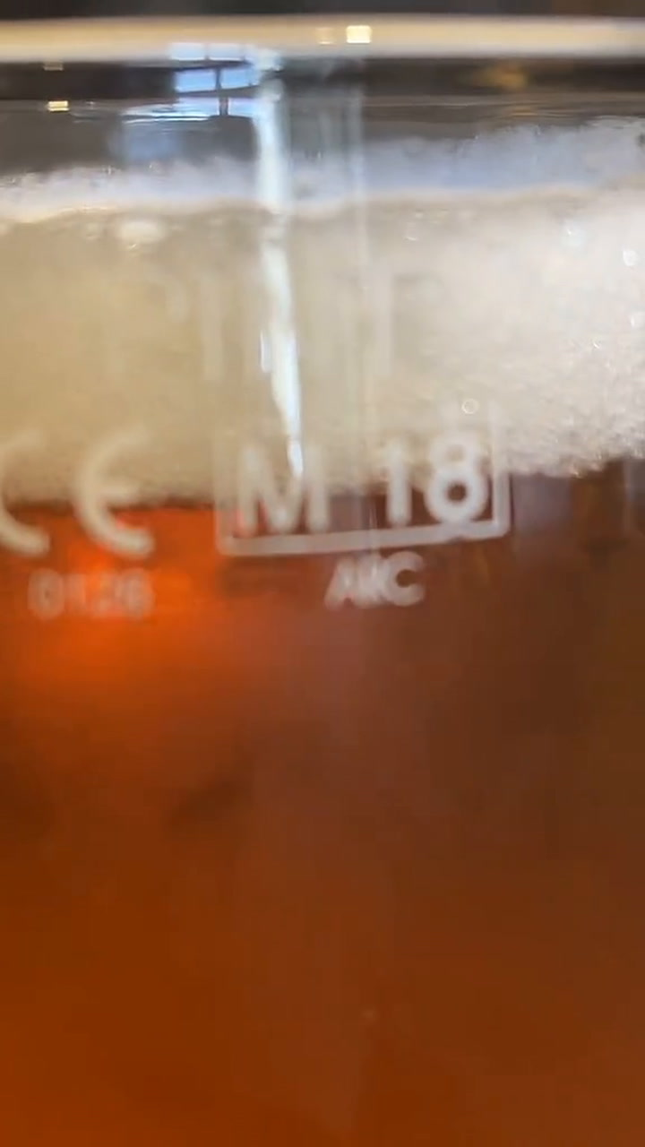 Glass the a pint do numbers what mean on What Does