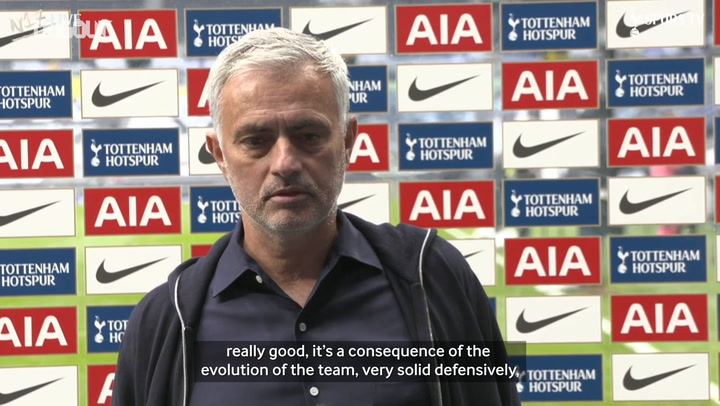 Mourinho gives thoughts on Newcastle draw
