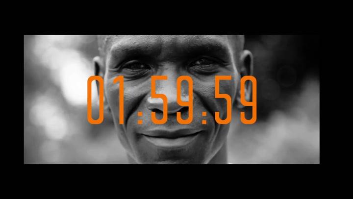 Así anunció Kipchoge su reto de bajar de las dos horas en maratón