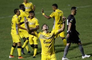 ¡Ángel Tejeda anota un golazo y Real España le está ganando a Honduras Progreso!