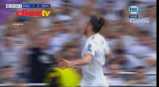 ¡GOOL DEL REAL MADRID! Bale maraca el 2-0 ante la Roma