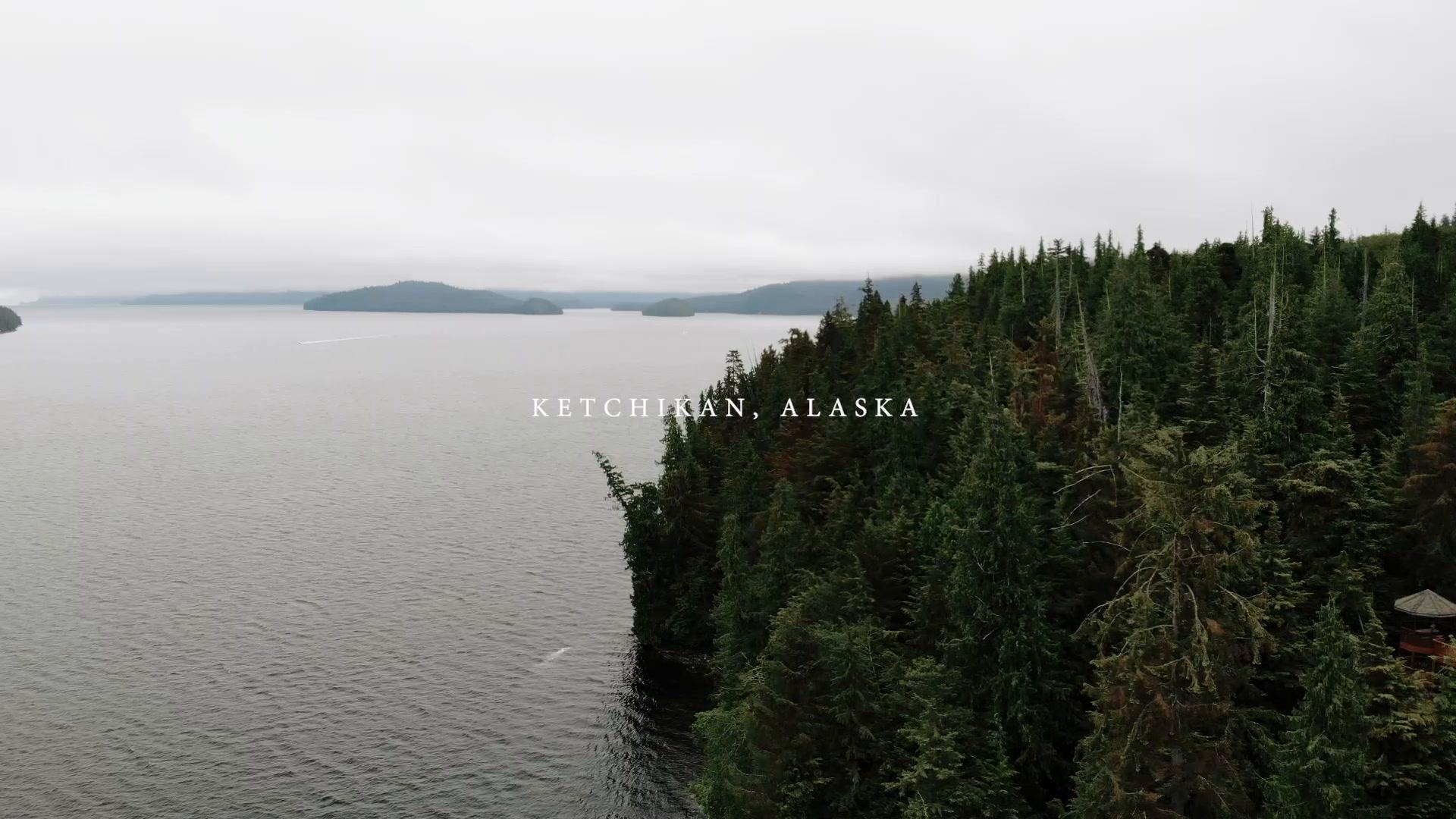 Kiana + Jasper | Ketchikan, Alaska | Salmon Falls Resort