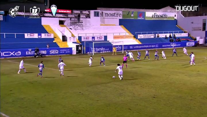 Highlights: Alcoyano 2-1 Real Madrid (Cúp Nhà vua Tây Ban Nha)
