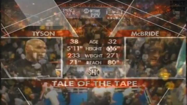 Tyson dejó el boxeo tras retirarse ante McBride en 2005