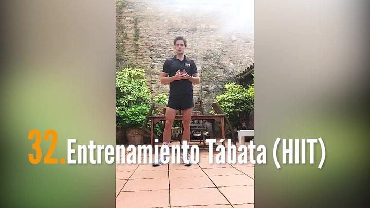 ENTRENA EN CASA (32): Entrenamiento Tábata (HIIT)