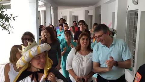 Los Reyes Magos llenaron de alegría los hospitales