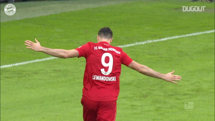 Robert Lewandowski's goalscoring success