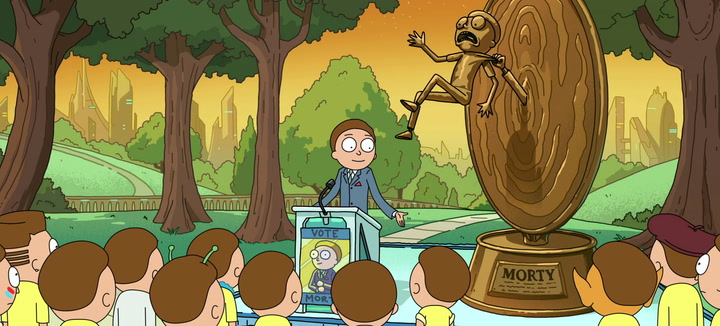 How Did Evil Morty Get Elected President?