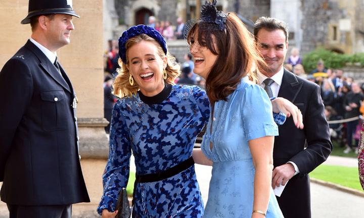 Cressida Bonas, ex del príncipe Harry, la invitada más divertida