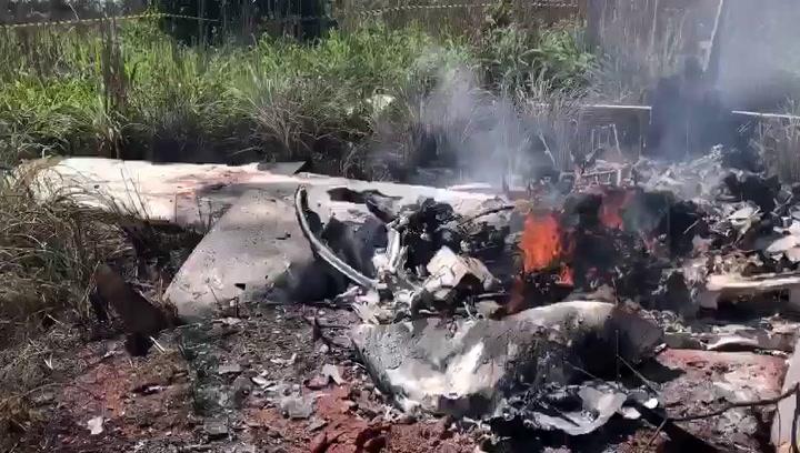 El presidente y cuatro jugadores de un club brasileño mueren en un accidente aéreo