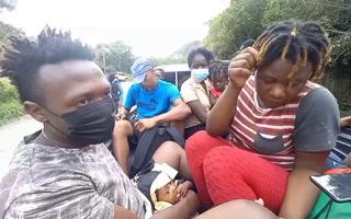 Haitianos ingresan por puntos ciegos a Honduras