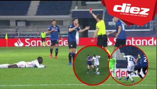 ¿Era expulsión para Freuler? La polémica roja a jugador del Atalanta ante el Real Madrid
