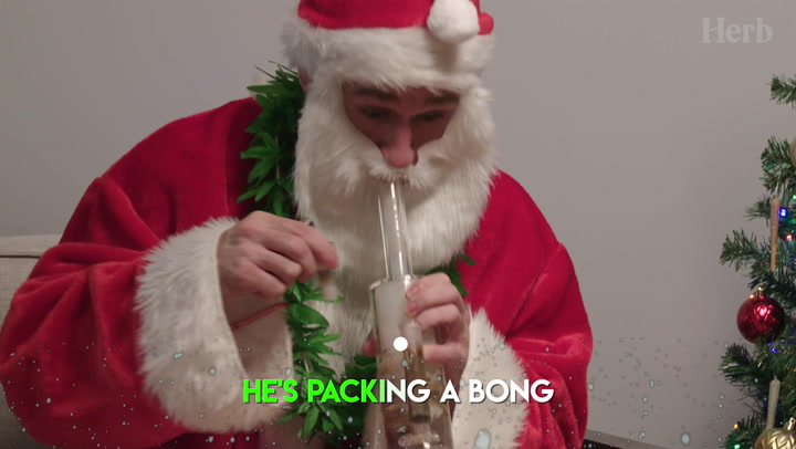Canna Claus Is Coming To Town (Weed Parody)