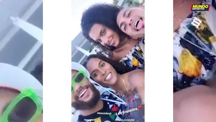 Escapada con modelos de Neymar y Verratti a Saint-Tropez