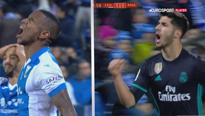 Highlights: Madrid reddet af Asensio i de døende minutter