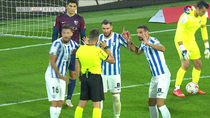 VAR S.D. Huesca - Málaga CF J11