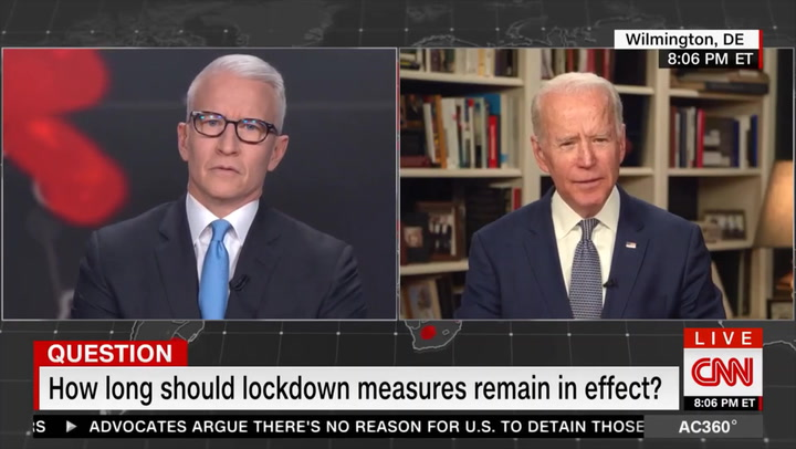 Biden: I Would Support Nationwide Lockdown