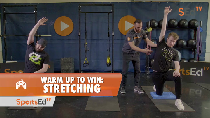 Warm Up To Win: Stretching To Improve Esports Performance