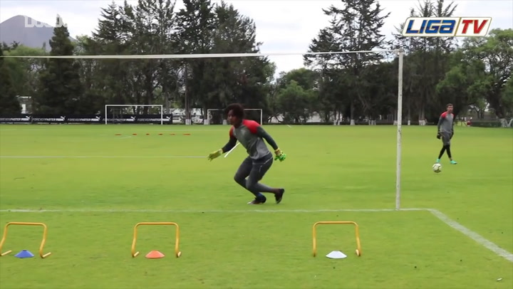LDU Keepers Are Put Through Their Paces