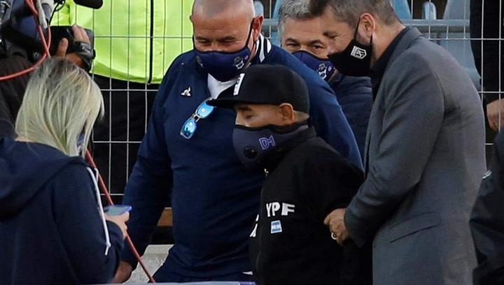 Así recibieron a Diego Maradona en su cumpleaños número 60