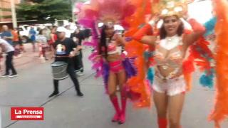 miles de capitalinos se vuelcan a las calles este sábado para celebrar el carnaval capitalino.