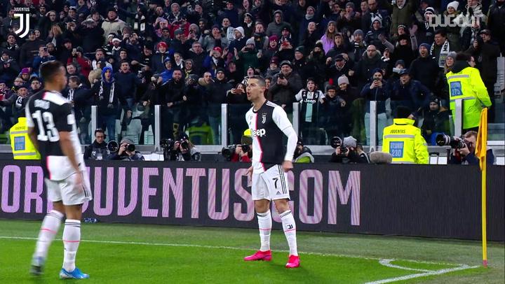 Sete golaços do Cristiano Ronaldo pela Juventus