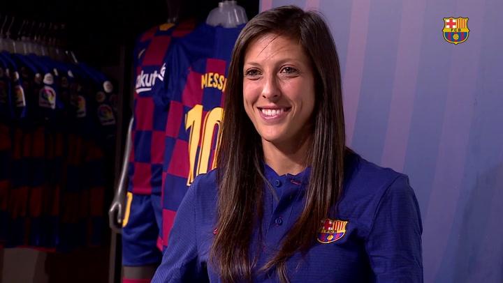 Jenni Hermoso vuelve al Barça