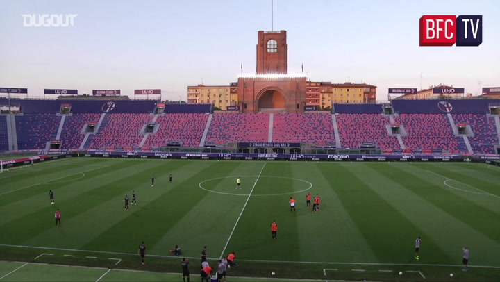Training match at Dall'Ara