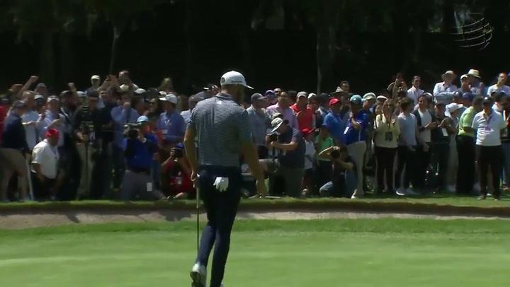 Dustin Johnson gana en México su sexto Mundial de golf