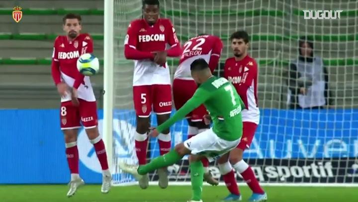 Benjamin Lecomte's best AS Monaco saves