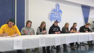 Brainerd Students Sign Letters of Intent