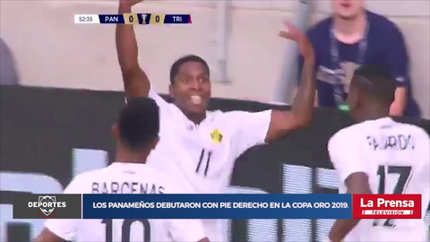 Panamá 2-0 Trinidad y Tobago (Copa Oro)