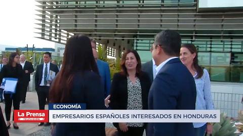 Empresarios españoles interesados en Honduras