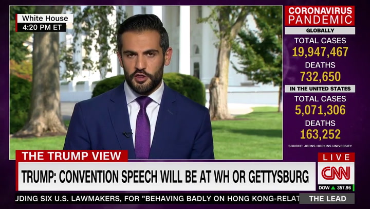 CNN's Diamond: Possible RNC Acceptance Speech at Gettysburg 'Could Be Controversial' Because Trump a 'Defender of Confederate Symbols'