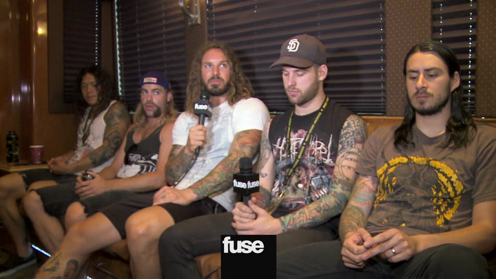 Festivals: As I Lay Dying Discuss Upcoming Album, Cage Fighting Pics