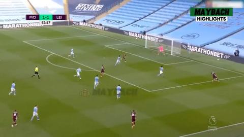 Manchester City 2-5 Leicester City (Premier League de Inglaterra)