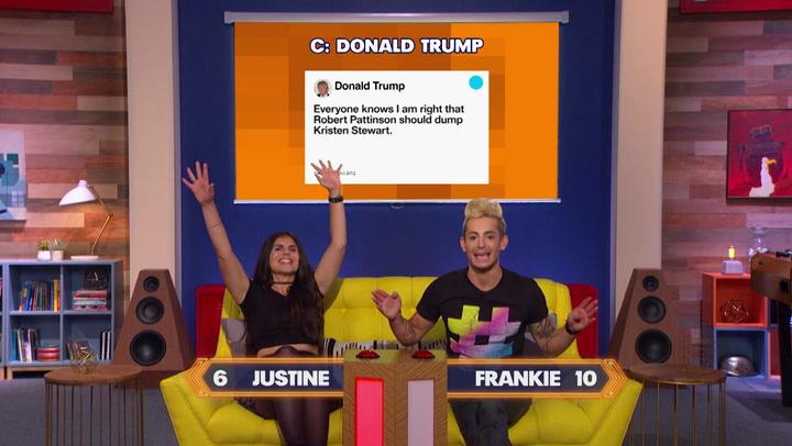 Justine Marino vs. Frankie Grande