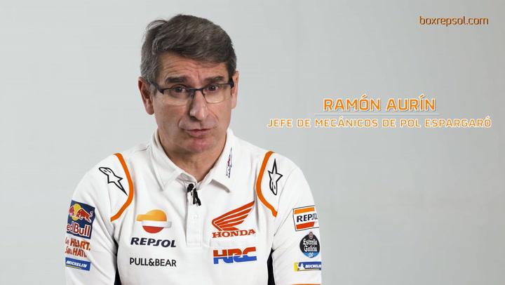 Entrevista con Ramón Aurín, jefe de mecánicos de Pol Espargaró en Repsol Honda