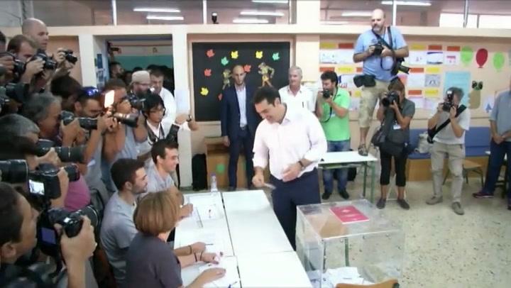 Tsipras overtuigd van overwinning