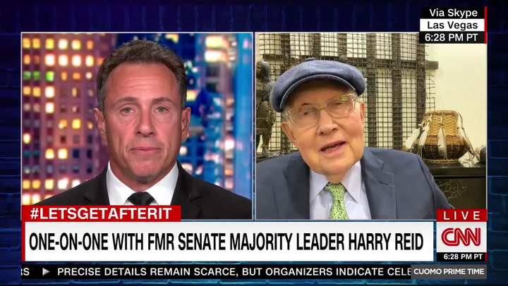 Harry Reid: Trump Has 'No Chance Whatsoever to Be President Unless He Figures Some Way to Cheat'