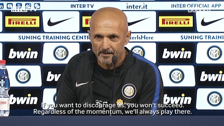 Spalletti: We Want To Keep Moving In The Right Direction