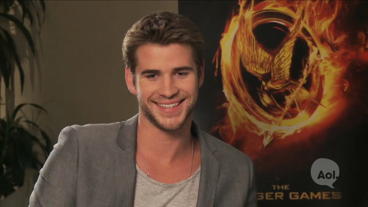 Liam Hemsworth Interview About The Hunger Games