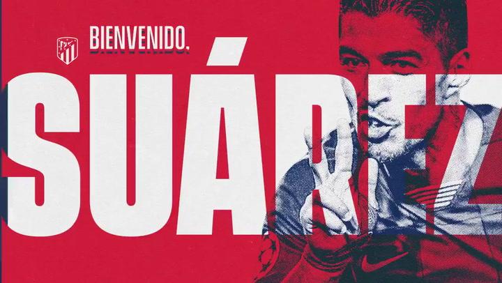 Luis Suárez, nuevo jugador del Atlético