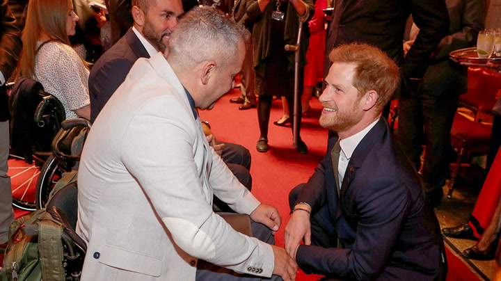 Watch live as Prince Harry joins Jill Biden honoring Warrior Games athletes