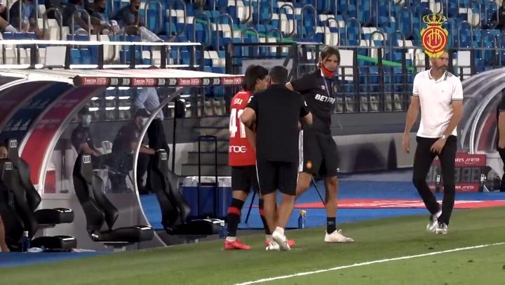 Así fue el debut en Primera División de Luka Romero