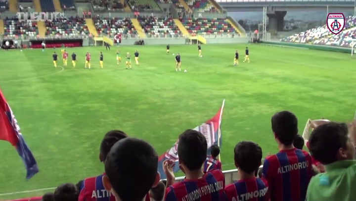 U-19 Highlights Against Helsinki In UEFA Youth League