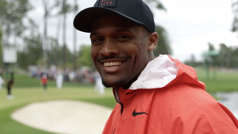 Brice Butler Hits The Masters