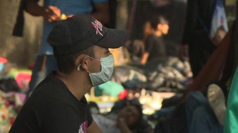Enfermedades e insalubridad golpean a migrantes camino a EEUU